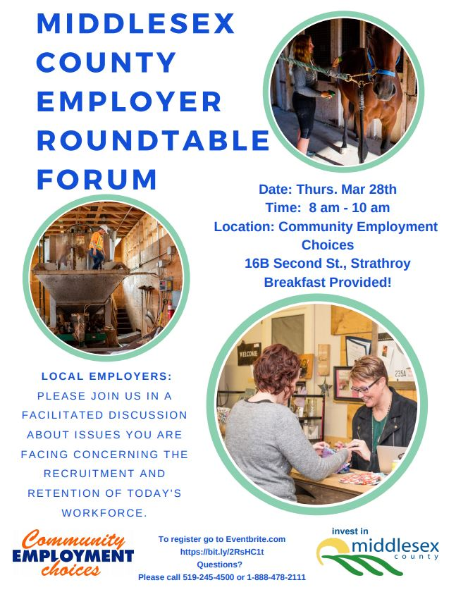 Middlesex County Employer Roundtable Forum